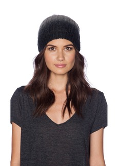 Michael Stars Laced Knit Ombre Slouch Hat