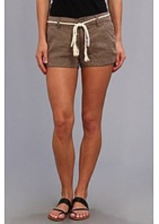 Michael Stars Linen Shorts w/ Rope Belt