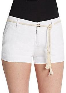Michael Stars Linen Tie Shorts