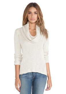 Michael Stars Long Sleeve Cowl Neck Sweater