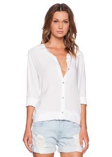 Michael Stars Long Sleeve Oversized Shirt