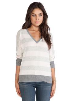 Michael Stars Long Sleeve V-Neck Sweater