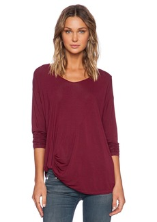Michael Stars Long Sleeve with Side Twist