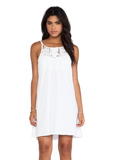 Michael Stars Macrame Yoke Dress