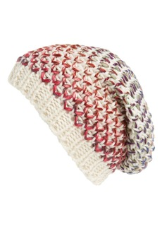 Michael Stars 'Pixel Painted' Slouchy Knit Beanie