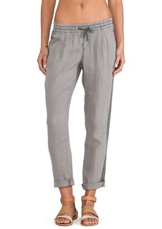 Michael Stars Pleated Cuffed Pants in Gray
