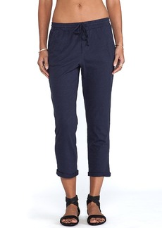 Michael Stars Rolled Cuff Pants in Navy
