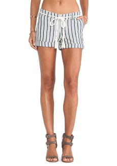 Michael Stars Rolled Cuff Shorts in Navy