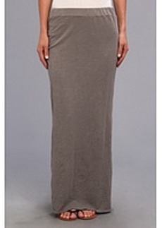 Michael Stars Slub Jersey Maxi Skirt w/ Slit