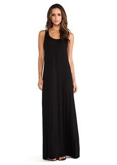 Michael Stars Sonia Sleeveless Tank Maxi Dress in Black
