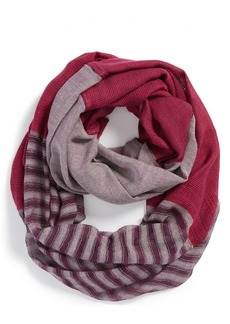 Michael Stars 'Stripe and Block' Infinity Scarf