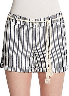 Michael Stars Striped Tie Shorts