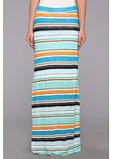 Michael Stars Super Happy Stripe Maxi Skirt