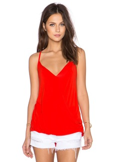 Michael Stars Surplice Cross Back Cami