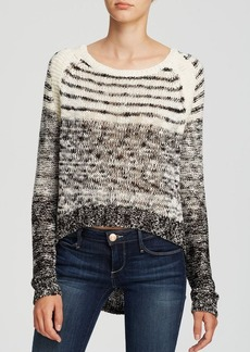 Michael Stars Sweater - High Low Stripe