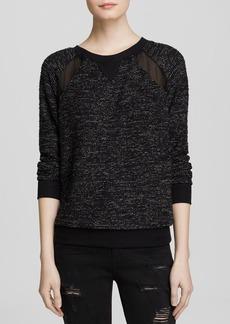 Michael Stars Sweatshirt - Bouclé Raglan