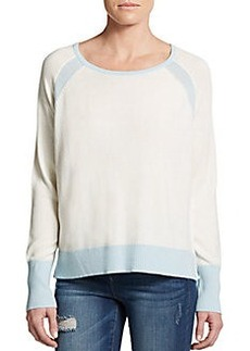 Michael Stars Two-Tone Wool-Blend Pullover