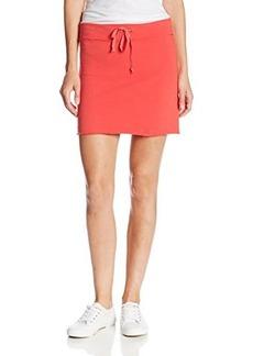 Michael Stars Women's French Terry Drawstring Mini Skirt