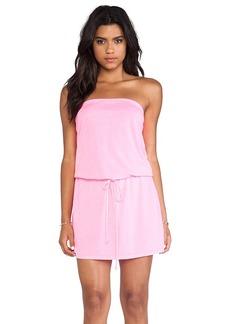 Michael Stars X REVOLVE Strapless Dress in Pink