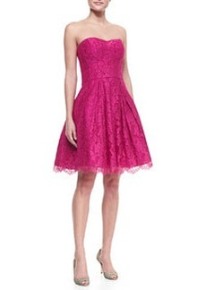 Ava Sweetheart Strapless Lace Dress   Ava Sweetheart Strapless Lace Dress