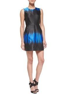Coco Sleeveless Ombre-Print Dress   Coco Sleeveless Ombre-Print Dress