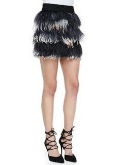 Feather Miniskirt   Feather Miniskirt