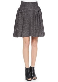 Gathered Tweed Skirt   Gathered Tweed Skirt