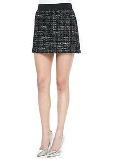 Italian Tweed Miniskirt   Italian Tweed Miniskirt