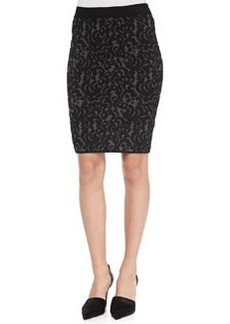 Knit Lace Pencil Skirt   Knit Lace Pencil Skirt
