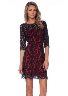 MILLY Ally Dahlia Lace Dress