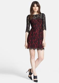 Milly 'Ally' Lace Sheath Dress