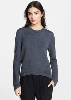 Milly Angled Mesh Sweater