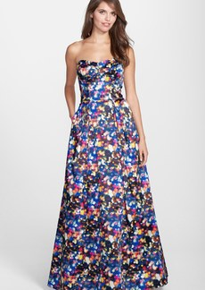 Milly 'Ava' Print Stretch Ball Gown