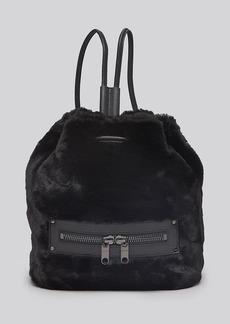 MILLY Backpack - Skylar Faux Fur