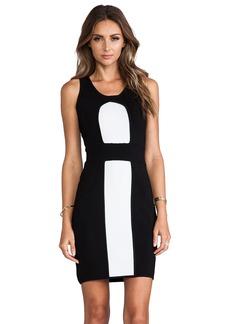 MILLY Body-Con Stretch Sheath Dress