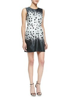 Milly Camellia Coco Sleeveless Floral-Print Dress