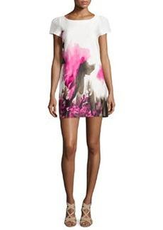 Milly Chloe Floral-Print Sheath Dress