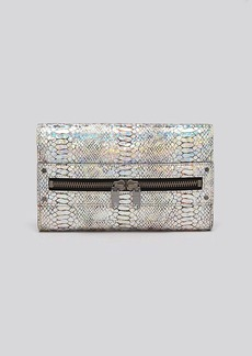 MILLY Clutch - Hologram Python-Embossed