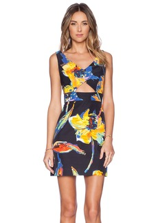 MILLY Cut Out Dress