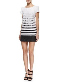 Milly Degrade Tweed Chloe Dress