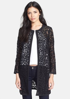 Milly Embroidered Lace Jacket
