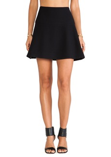 MILLY Flare Skirt