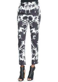 Milly Floral Mirage Print Pants