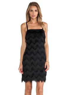 MILLY Fringe Dress