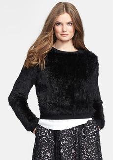 Milly Genuine Rabbit Fur Sweater