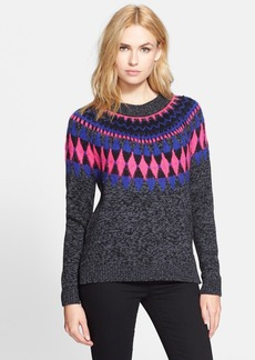 Milly Graphic Fair Isle Pullover
