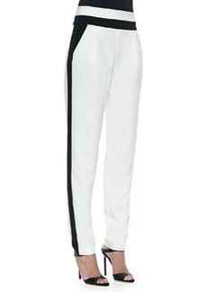 Milly Italian Cady Tux Trousers