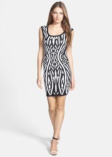 Milly 'Kaleidoscope' Jacquard Body-Con Dress