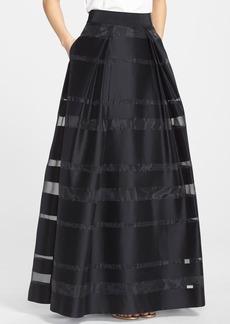 Milly 'Katie' Shadow Stripe Ball Skirt