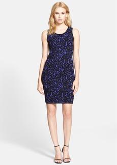 Milly Lace Jacquard Sheath Dress
